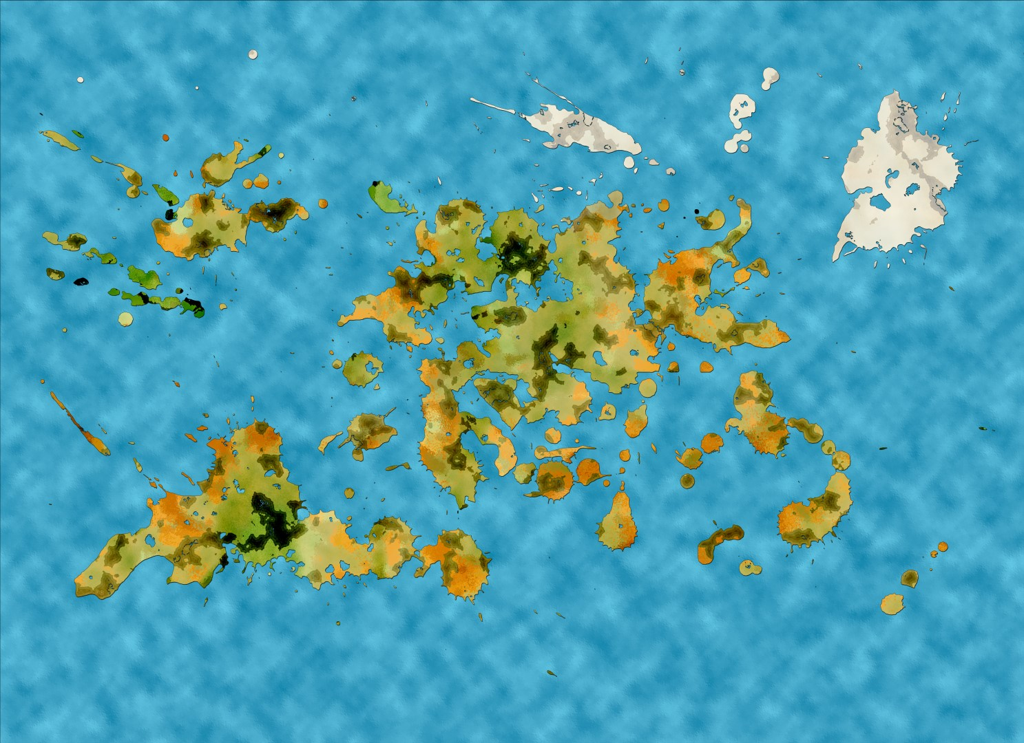 World Map LG0012 (Large)