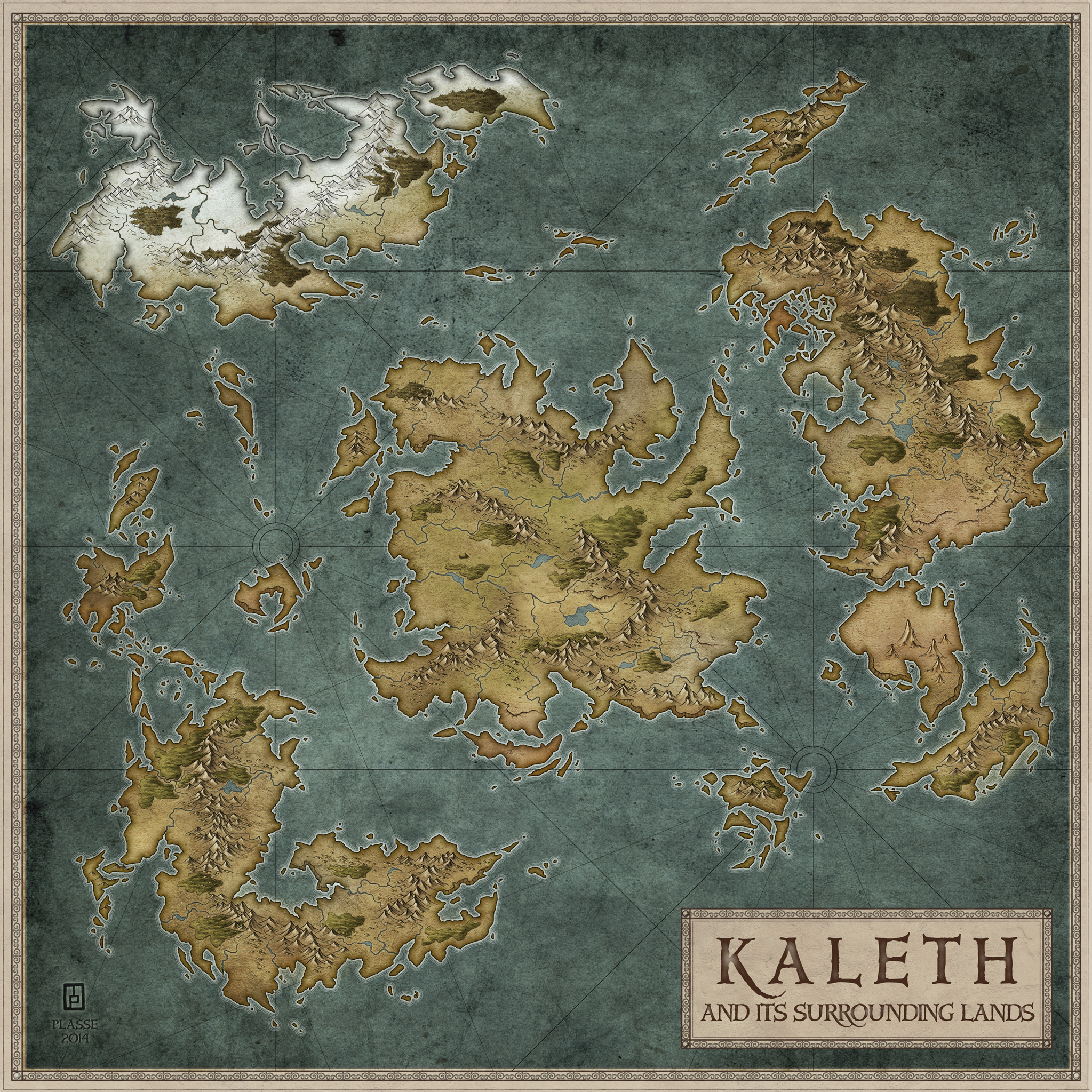 Kaleth - Aegin : Forum based game commission