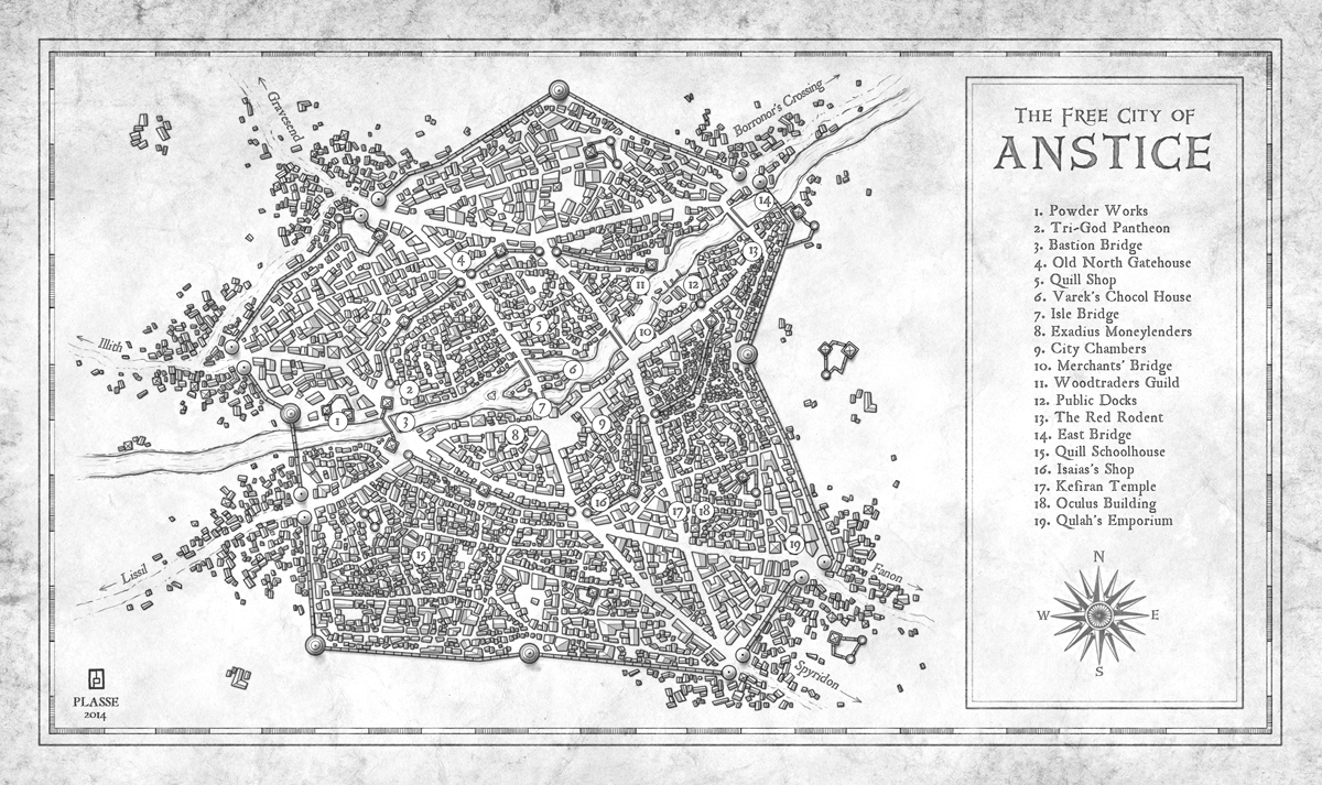 Anstice - Commission for the writer Matt karlov