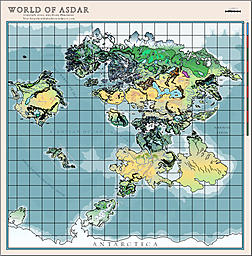 Asdar World Maps
