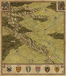 "Lands of Yvrian - commission for a web game project    � 2014 - All rigths reserved    ""Max's artistic style is beautiful and he really captured the..."