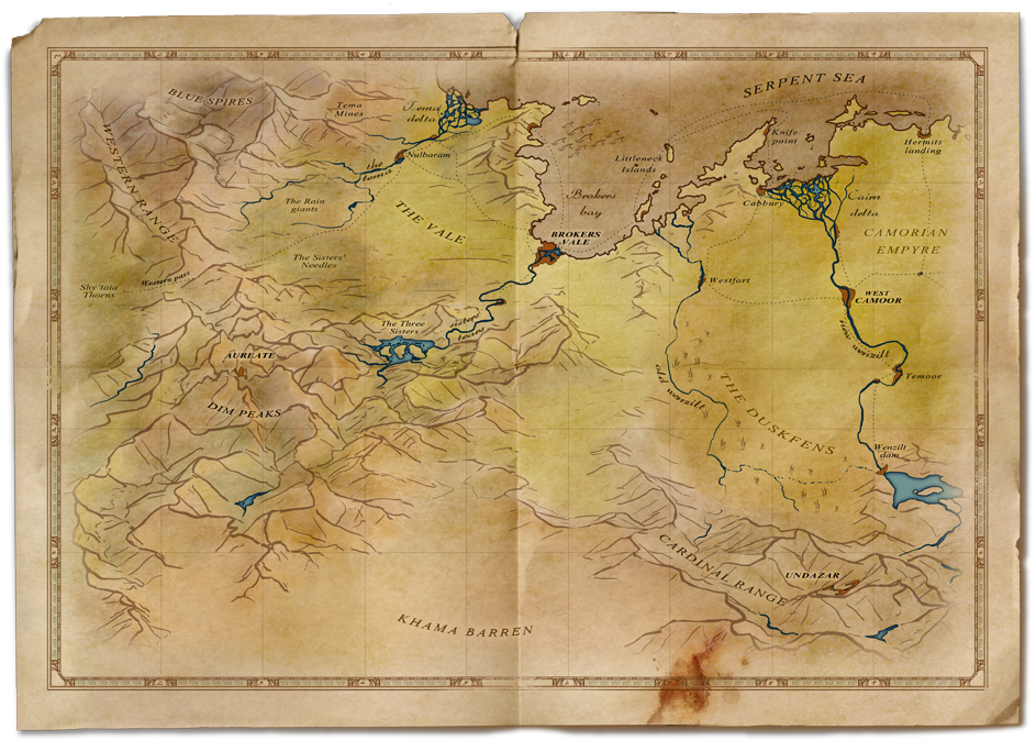 This is an old version of the Central Orbani map - mistakes included XD