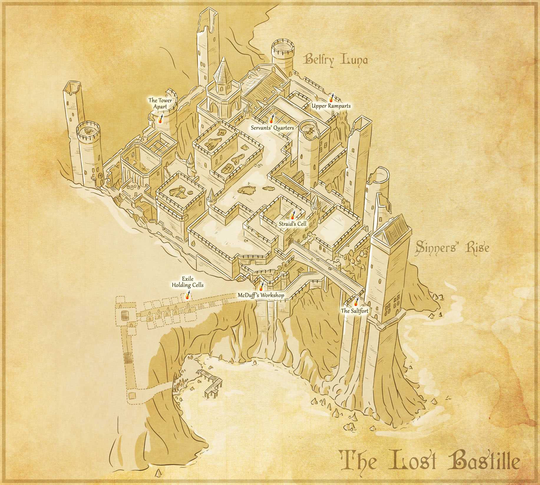 The Lost Bastille