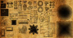 Tomb Map Objects Pack - Commissioned object set for building maps in Roll20.  � 2014 J.KELLY - All rights reserved