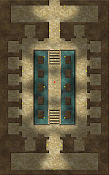 A tomb map that I never finished properly.  Based on the Osireion of Egypt.