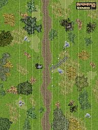 battlemap grassland tracks objects 3000