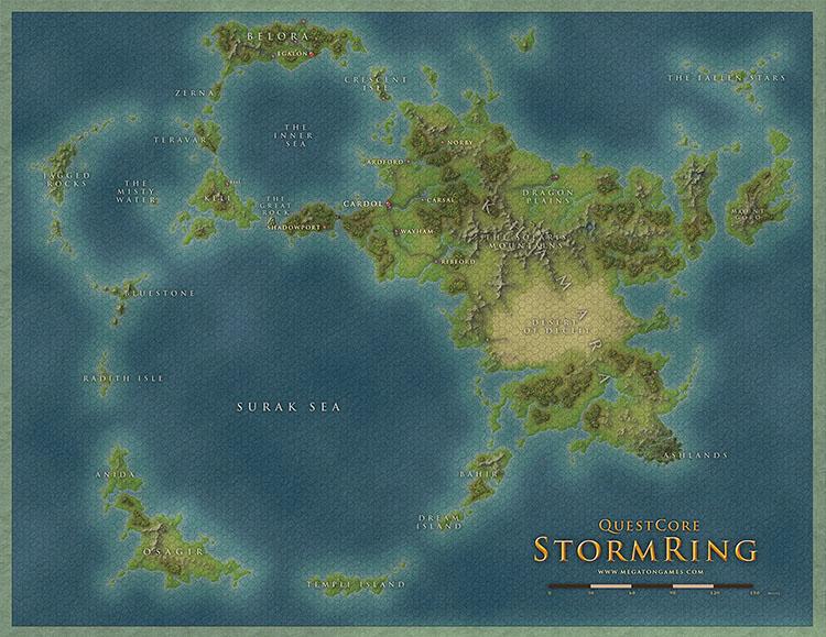 StormEing map