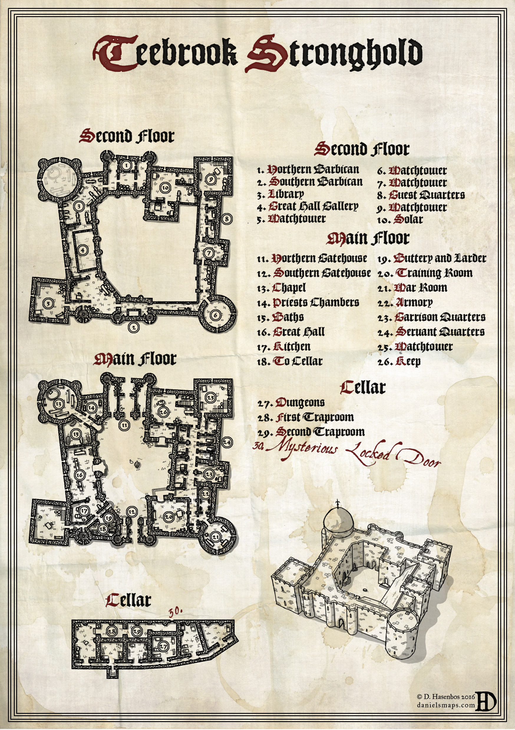 [Day Map #2] Teebrook Stronghold
