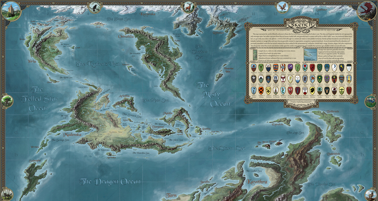 Skenth: The Known World - By Viking