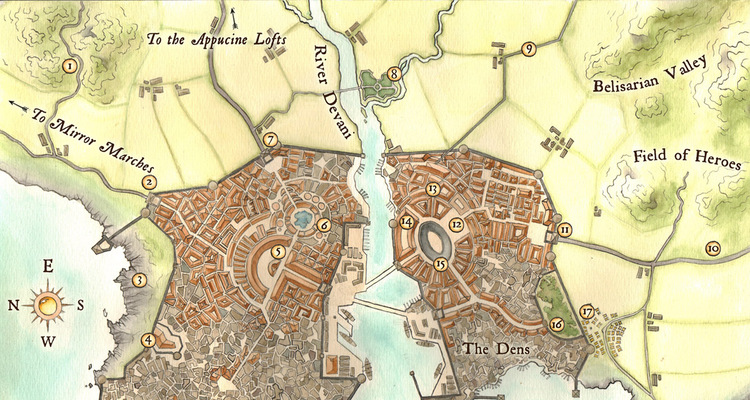 Renaissance City By Lingon
