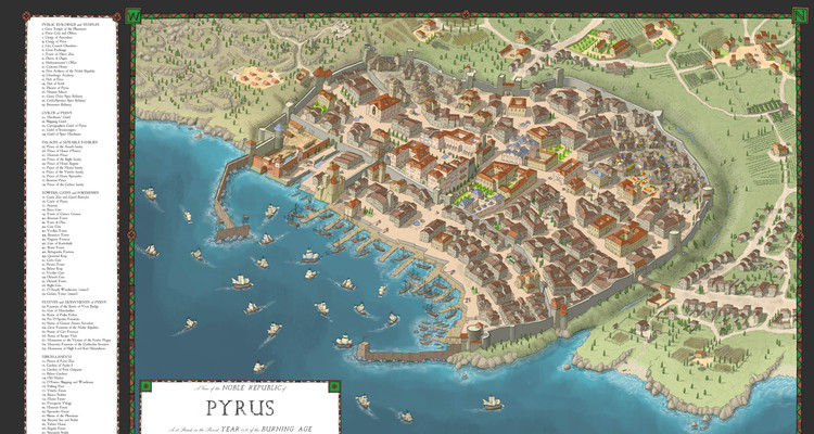 The City Of Pyrus By TheHoarseWhisperer