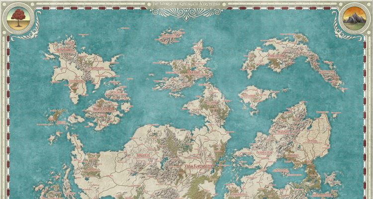 Cartographers guild a community for maps of fantasy sci fi and kinebrach verymensis by daelin gumiabroncs Gallery