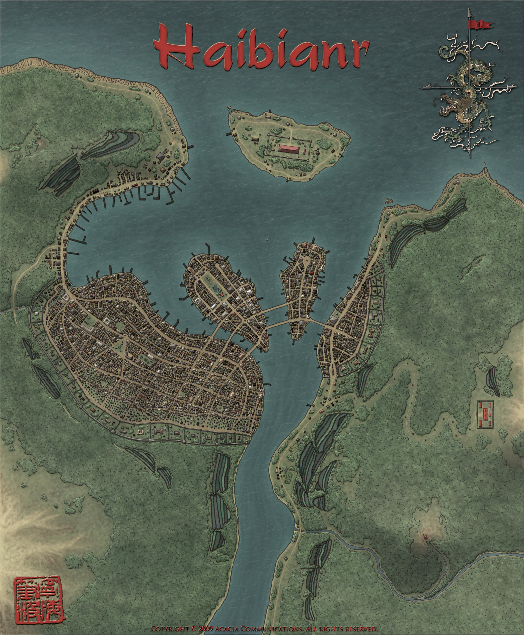 Fantasy Port City
