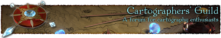 Cartographers' Guild banner